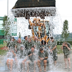 Mountaineer Casino Claims Ice Bucket Challenge Record