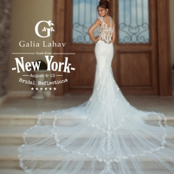 WedAlert Joins the New York Wedding Market with Exclusive Invite to Bridal Reflections' Galia Lahav Trunk Show