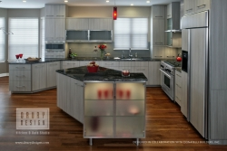 Contemporary Kitchen Design Townhouse Remodel Honored with Chrysalis Team Award