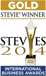Oxagile Wins Gold Stevie® Award in the 2014 International Business Awards℠