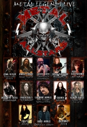 Metal All Stars Add Dates to 2014 Western European Tour and Announce VIP Meet & Greet Events