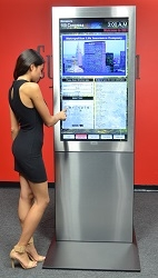 CyberTouch Introduces Link Indoor Touch Kiosks