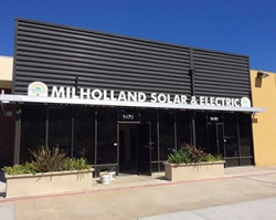 Solar Power Fuels Business Expansion for Milholland Solar & Electric a Certified Disabled Veteran Owned Business Enterprise