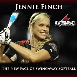SwingAway Sports Products, Inc - Signs  Fastpitch Softball Icon Jennie Finch to a Multi-Year Contract