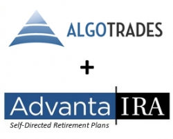 AlgoTrades Automatic Investing System Selected Advanta-IRA for Managing IRA, Roth IRA and 401K Accounts