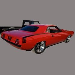 Sneak Preview: SEMA 1970 Hemi Cuda from McLeod Racing and 1ShopAuto