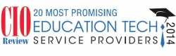 Oxagile Named to CIO Review's 20 Most Promising Education Tech Service Providers for 2014