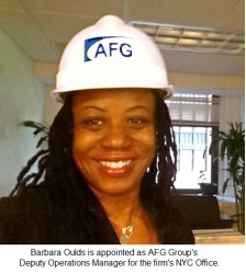 AFG Group Appoints Barbara Oulds as Deputy Operations Manager for NYC Office