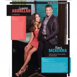 Dr. S. Mark McKenna, Medical Doctor and Entrepreneur and Gianine Abdallah, Fashion Model and Bikini Impresaria, Are Named 50 Most Beautiful Atlantans by Jezebel Magazine