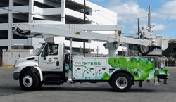 Los Angeles Department of Water and Power Checks Off Bucket List Item: Receives the First Odyne Hybrid System Equipped Truck in California