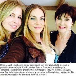 Three Generations of Beauties Reveal Skin Care Secret