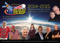 "Little Linksters ""Best Pee-Wee Golf Swing in the World"" Video Contest Celebrates 5th Year"