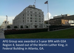 AFG Group Awarded 5-Year Construction Management BPA by GSA Region 4
