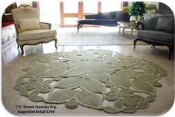 Homespice Décor Brings Sophisticated Art Form and Fresh Style to Braided Rugs