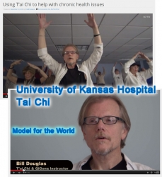 In PBS Affiliate KCPT Feature Patients Explain How Tai Chi Book Author's Program is Saving Millions in Healthcare Costs via His Work with University of Kansas Hospital