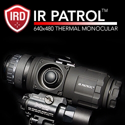IR Defense Corporation Answers the Call for a Low Cost, Military Grade Thermal Monocular. Introducing the World's Most Cost Effective 640x480 Resolution Thermal Monocular