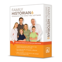 Family Historian 6 Adds Internet Data Matching and Much More...