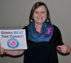 """Remarkably Renee Helps Launch Advanced Cancer Awareness Campaign, """"Gonna BEAT This Thing"""""""