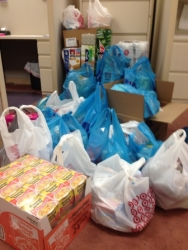 Mars National Bank Staff Support Butler County Winter Relief Center