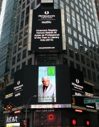 Nathan M. Jones Has Been Honored with an Appearance in Times, Square, New York City