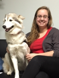 A Rescued Dog from the Streets Helps a High School Senior with Type 1 Diabetes Gain Her Independence