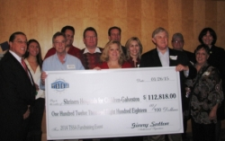 Texas Self Storage Ociation Tops Previous Donation To Hospital In Galveston Total Funds Donated Date Exceed 616 000