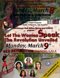 Let the Women Speak: Revolution Unveiled 2015