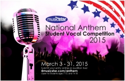 National Anthem Vocal Competition