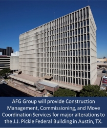 AFG Group Awarded Construction Management Contract for J.J. Pickle Federal Building Renovation