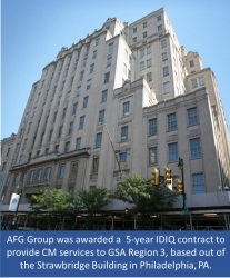 AFG Group Awarded 5–Year Construction Management Contract by GSA Region 3