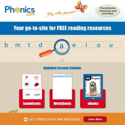 New Phonics Website Offers Free Resources for Teachers and Parents