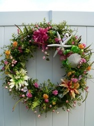 Beachy Wreaths by Annie Gray Launches New Website for Coastal Living