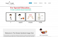 A New Portal for Creating Visual Support for Children with Special Needs