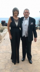 Stage IV Colon Cancer Survivor Celebrated Ten Year SIR-Spheres Anniversary  with Weekend of Oscar Events
