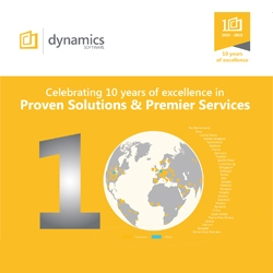 Dynamics Software Celebrates Their 10th Anniversary