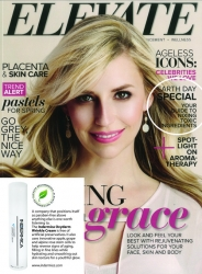 INDERMICA Oxyderm Wrinkle Cream Featured in Elevate Magazine