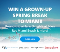 Win an Adult Spring Break to Miami at the Eden Roc Hotel