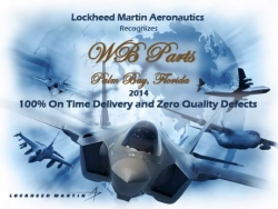 WBParts, Inc. Receives Lockheed Supplier Recognition Award