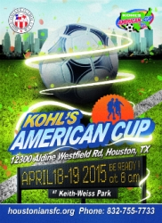 US Youth Soccer Approves Houstonians Futbol Club to Host the Kohl's American Cup in Houston