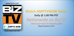 AMPTVNOW News to be on BizTV National TV Channel Daily Starting March 30th