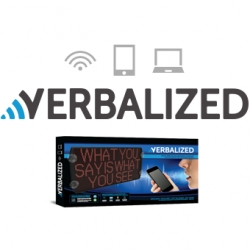 Verbalized Offers Quick, Convenient, Wireless Control of LED Sign Content