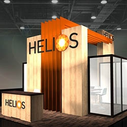 ADM Two Wins ADDY Award for Helios Custom Trade Show Booth