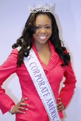 Charlene Rhinehart Crowned Ms. Corporate America 2015