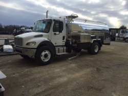 First Odyne Hybrid System on a Fuel Tank Truck Delivered