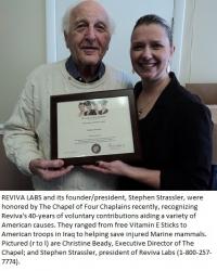 Humanitarian Award to Reviva Labs