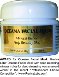 Clearing Complexion with Award-Winning Oceana Facial Mask