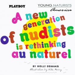 Playboy Gets High Marks from Young Naturists America for Being Supportive of Body Image and Acceptance