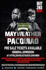 McFadden's in Addison is Preparing for a Huge Night in Anticipation for the Fight of the Century on Saturday, May 2, 2015