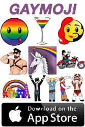 New GAYMOJI APP Lets LGBT Community Speak Volumes with Specifically Designed Emoticons iPhone/iPad App; Features Downloadable Keyboard