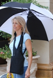 The Brella Bag Hands Free Umbrella Holder® is New and Improved for an Overall Better Experience